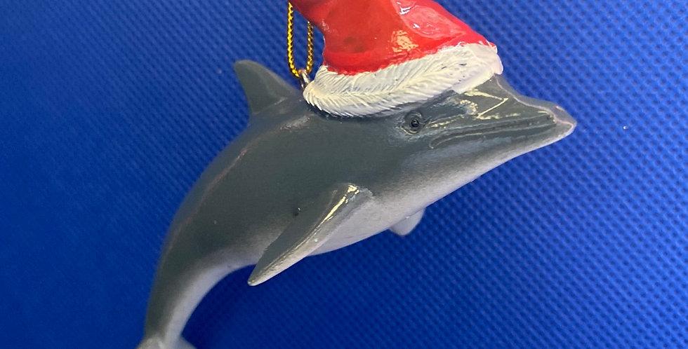 Santa dolphin