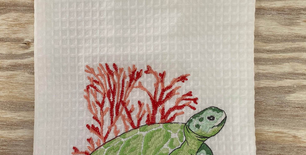 Sea turtle Tea Towel