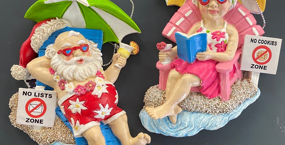 Vacation Mr and Mrs Claus