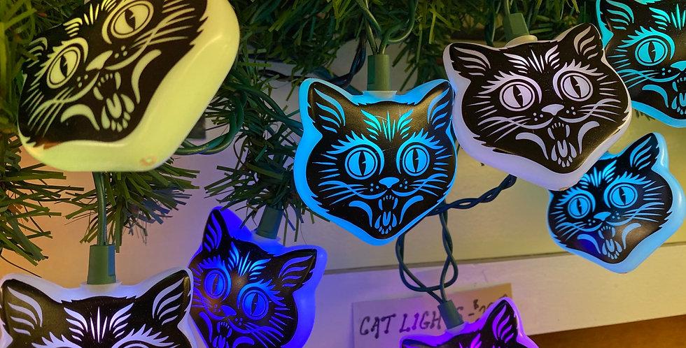 Cat lights set of 10
