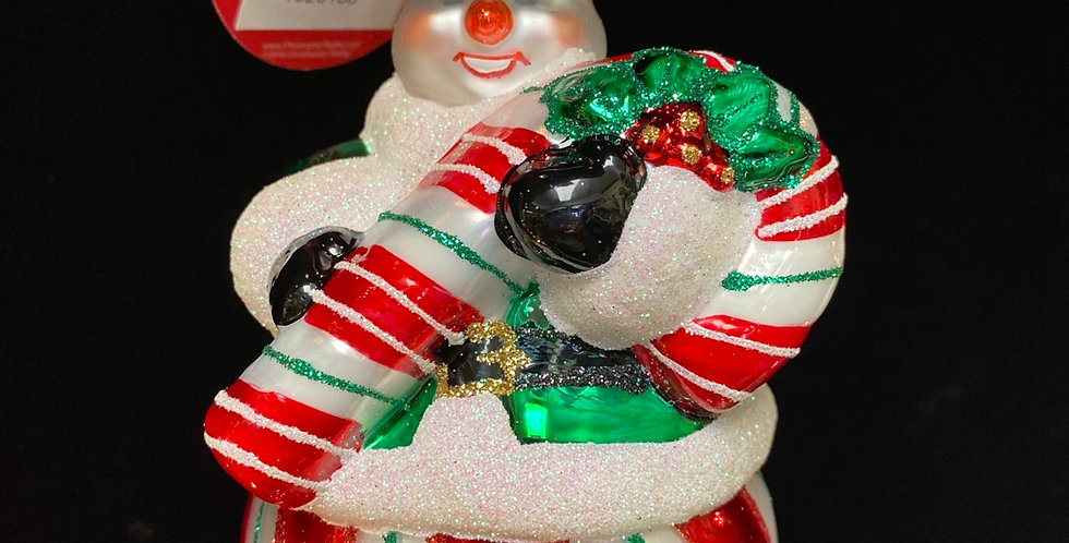The Candy Snowman