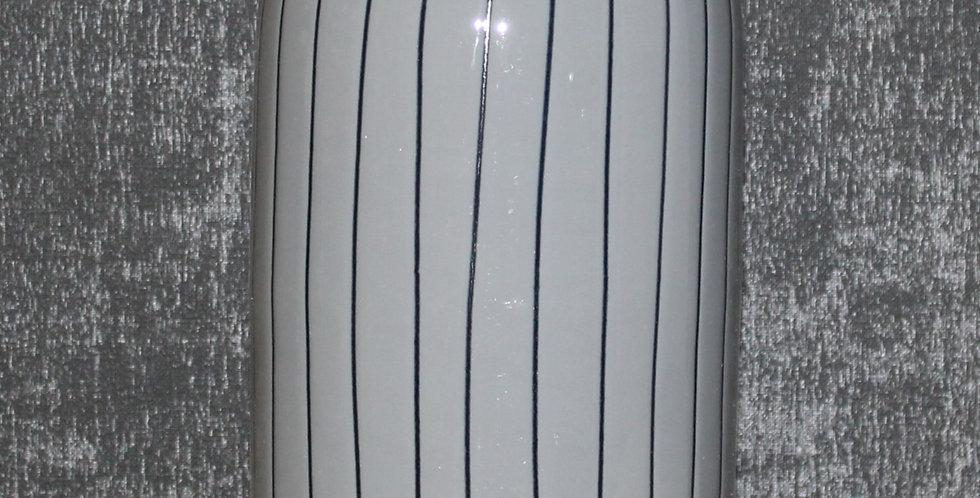 Metall Vase Schlamm Mit Streifen