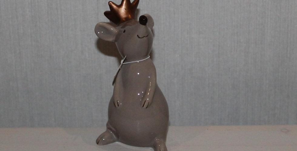Maus mit Krönchen