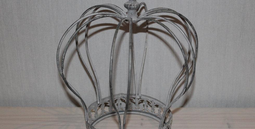 Krone Metall Grau