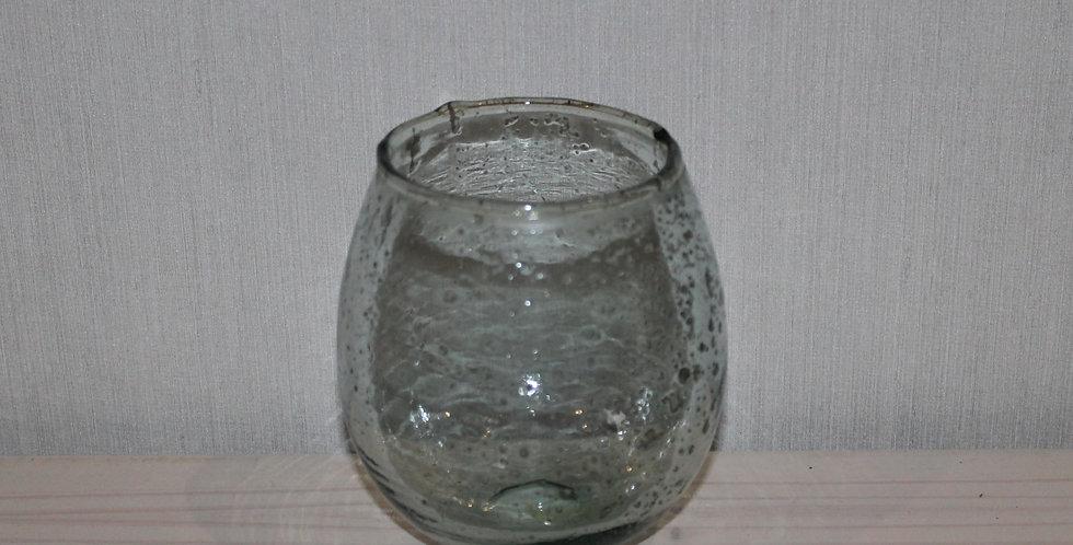 Windlicht Glas Bauchig Bubble