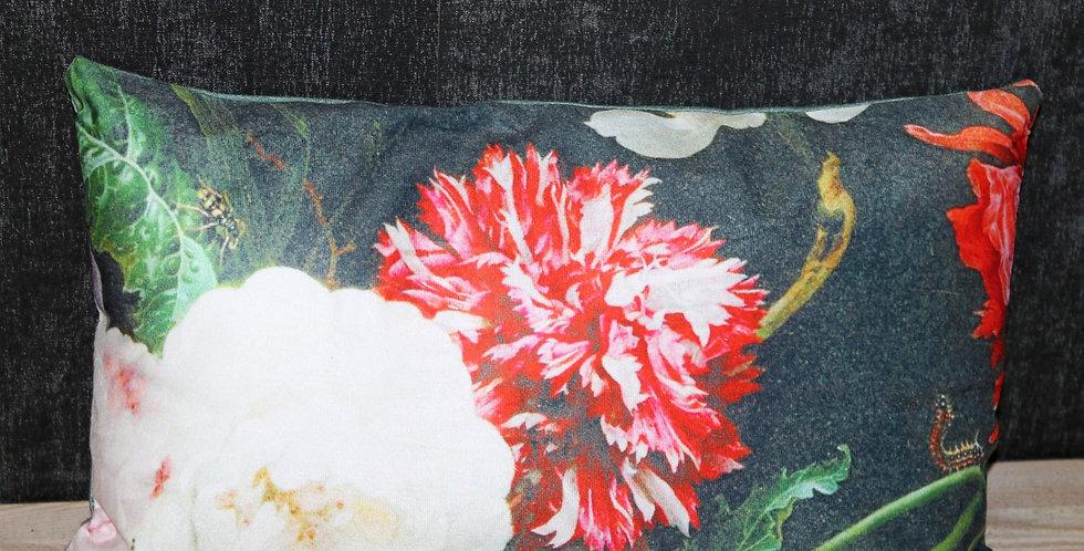 Kissen Blütendruck Bunt