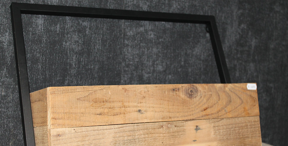 Holzkasten Wandhänger