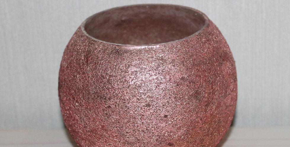 Teelicht Beschichtet Rosa Bauchig