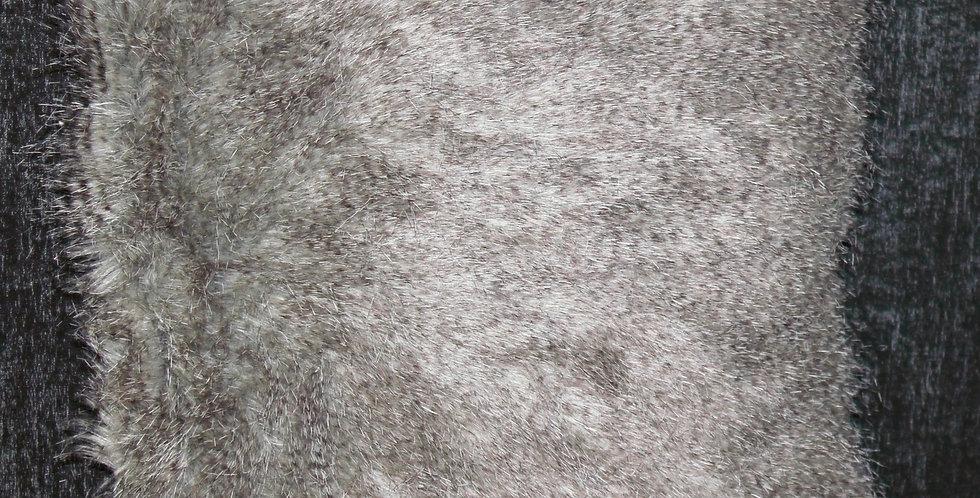 Kissen Fell Grau