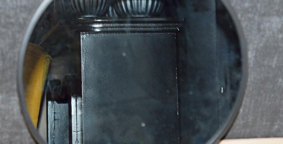 Spiegel schwarz schmaler Rand