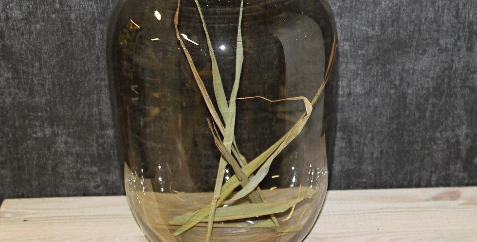 Vase Noah klar/schwarz
