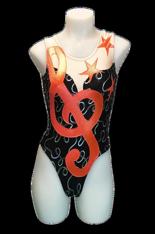 Neon Orange Classical Duet (Sold as a Pair $90 ea.) Size 24
