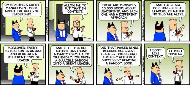 Great Dilbert Cartoon on Context