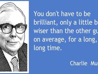 """Charlie Munger, the """"Model"""" Investor"""
