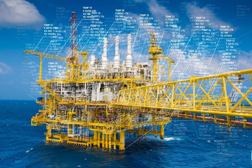 IoT Data Generated by an Oil Platform