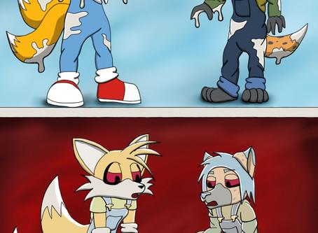 Li'll Zombots (Sonic Fanart)