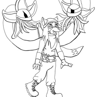 Self Inflicted Controller Wedgie (Lineart)