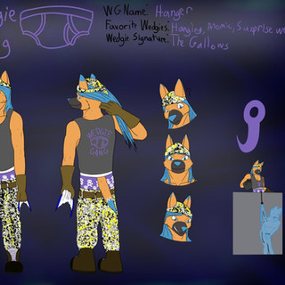 Wedgie Gang Character Ref (By Jayden Thunderwolf)