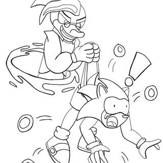 (Sonic Fanart) Warp Wedgie