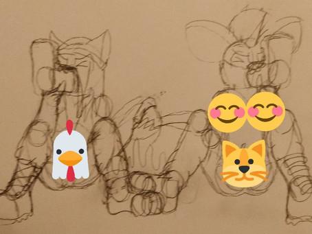 Random Doodles (04/20/2019)