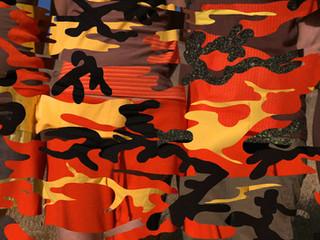 Four-color Fire Pattern