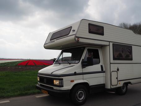 Met een gehuurde camper door Noord Nederland