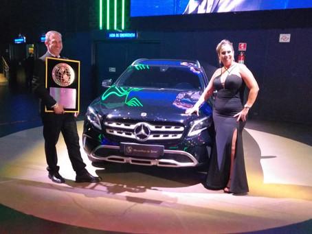 Maravilhas da Terra entrega Mercedes Benz na sua 1° convenção em São Paulo