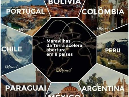 Maravilhas da Terra inicia sua expansão internacional em grande escala com foco e mais 8 países!