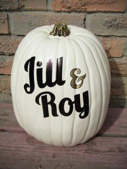 Pumpkin - Jill & Roy