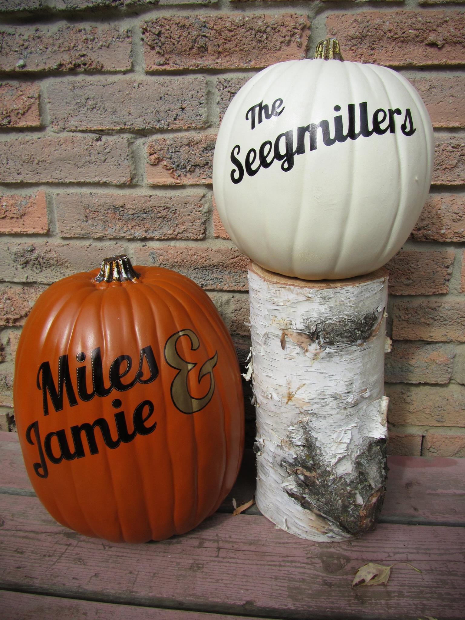 Pumpkins - Miles & Jamie Seegmiller