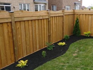 New fenceline flowerbed