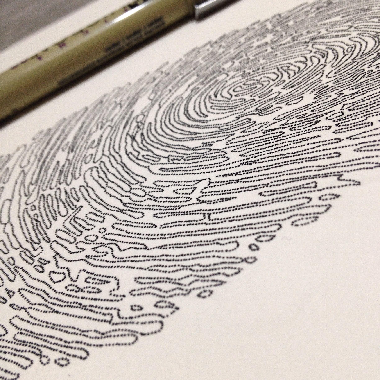 Fingerprint - Paul - detail