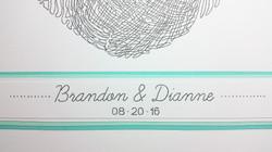 Brandon & Dianne - detail