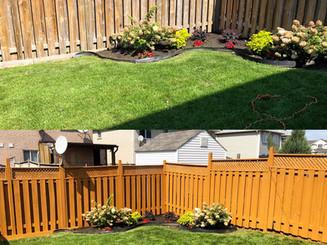 Fence facelift