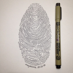 Fingerprint - Magdalena