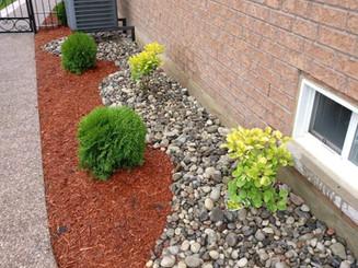 New side flowerbed