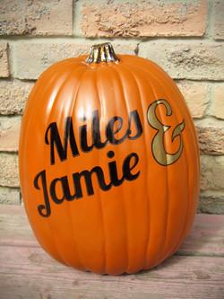 Pumpkin - Miles & Jamie