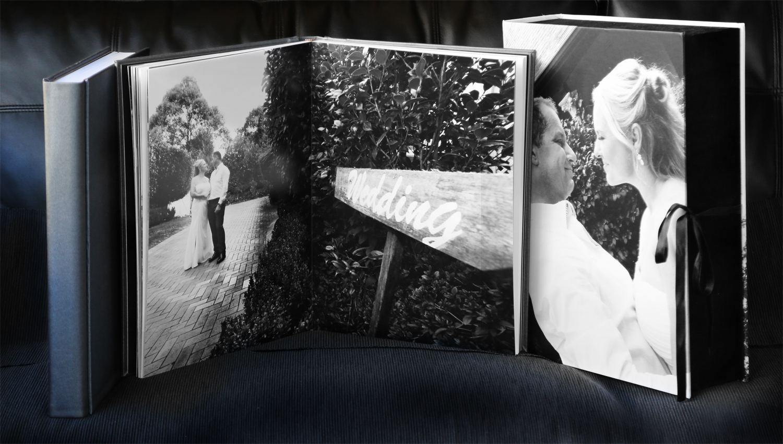 Custom Tailored Wedding Albums