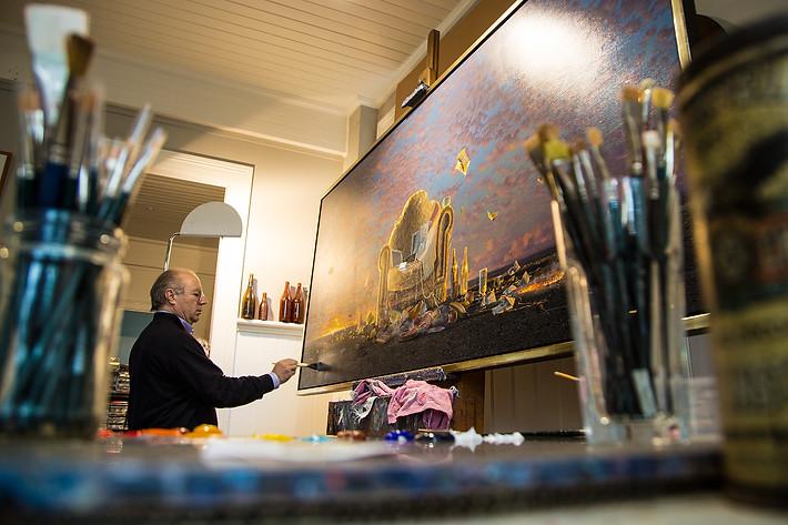 Tim Storier, artist