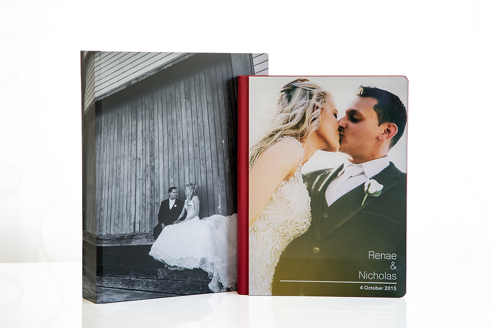 Modern Styled Perspex Wedding Album