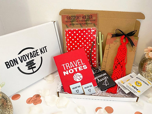 Bon Voyage Kit - a gift for travel lovers
