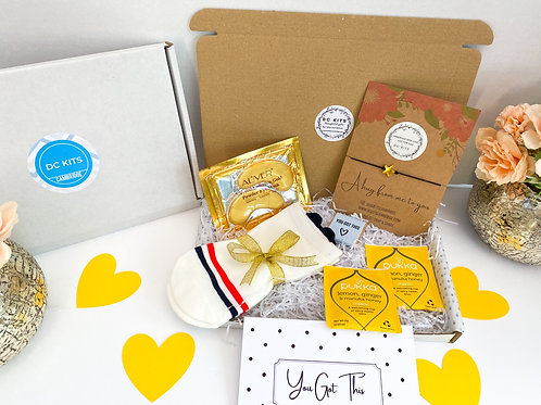 Mini Pampering Box Gift (Gold Themed)
