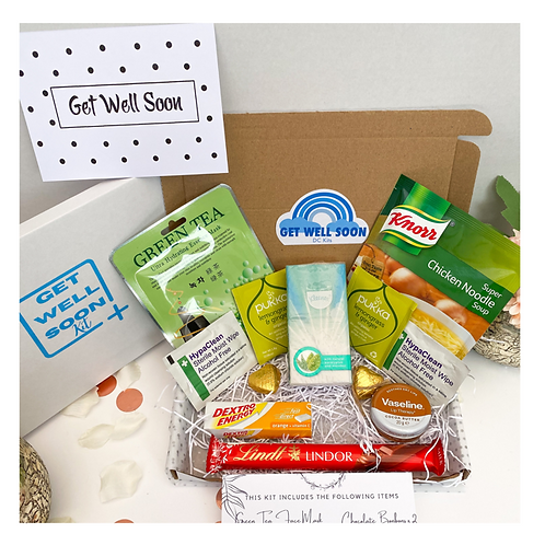 Get Well Soon Pampering Kit