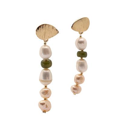 Mermaid Pearl Drop Earrings