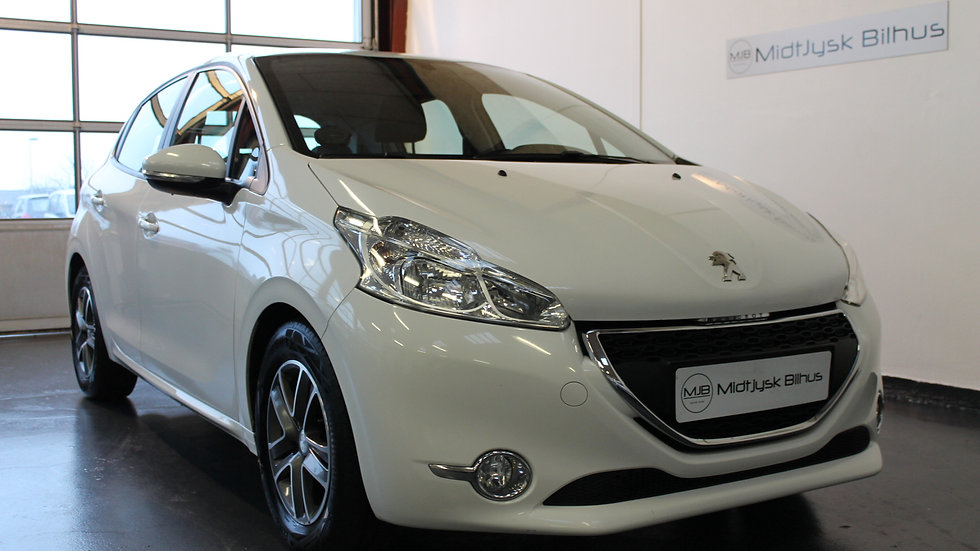 Peugeot 208 1,6 e-HDi 92 Active 5d - Diesel - Modelår 2013