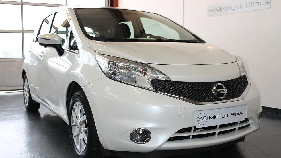 Nissan Note 1,5 dCi 90 Acenta 5d - Diesel - Modelår 2014