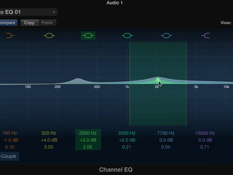 How To Use The Channel EQ (Logic Pro)