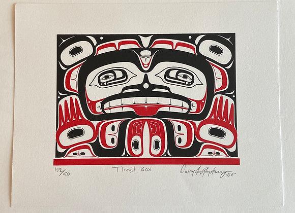 Tlingit Box Silkscreen Print
