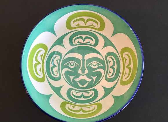 Moon Porcelain Art Bowl
