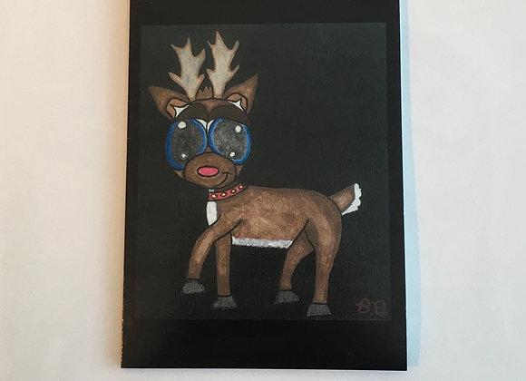 Rudolph Art Cards